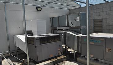 LEUSD HVAC Project - HVAC Units exposed to solar loading