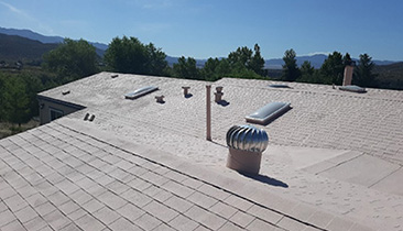 CIC Boost was applied to an Asphalt Roof